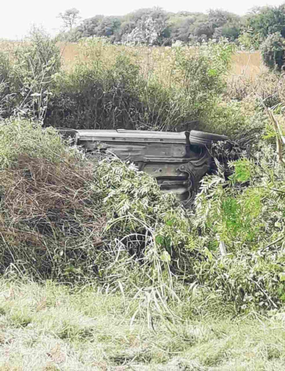 Accidente de tránsito en Ruta 36