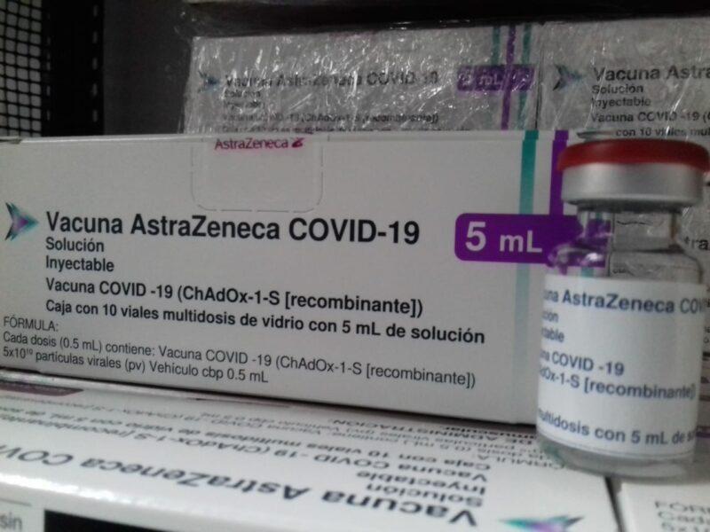 Buenas noticias: el lunes llegarán más de dos millones de dosis de AstraZeneca