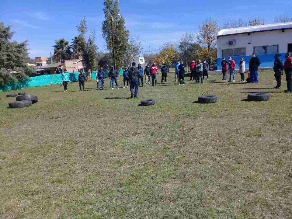 La Universidad Popular brinda un curso de Defensa Civil en Anisacate