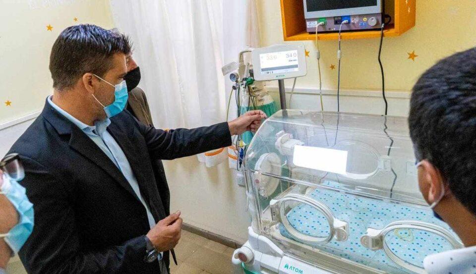 Facundo Torres entregará en el Departamento insumos y equipos médicos