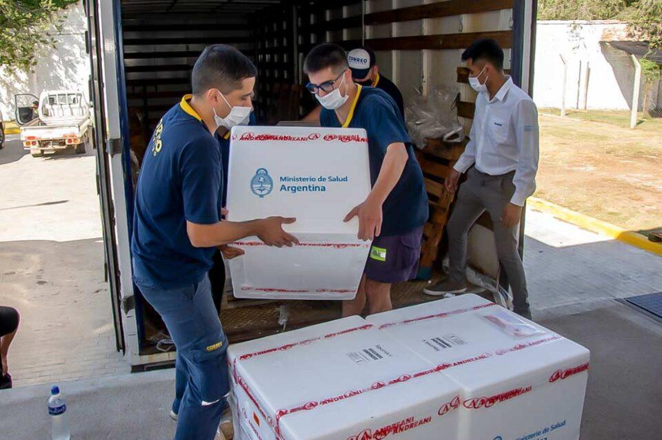 Llegarán a Córdoba otras 41.000 dosis de vacunas Sputnik V