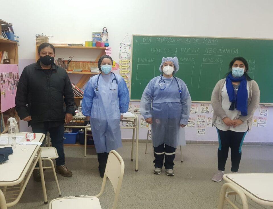 Potrero de Garay lleva adelante un plan integral de salud para sus niños