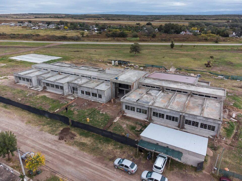 Avanza la construcción de la escuela ProA en Despeñaderos