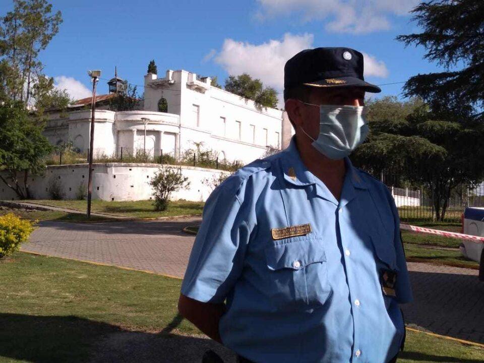 El Comisario Rafael Salgado es el nuevo Jefe de la Departamental Río Segundo