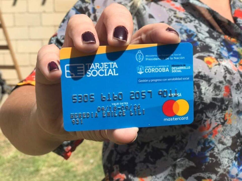 El miércoles comienzan los pagos de la Tarjeta Social en el Interior