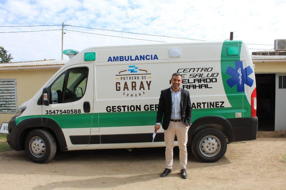 Continua avanzando la obra en el centro de salud de Potrero de Garay