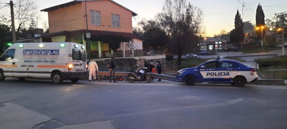 Alta Gracia: accidente de tránsito en Barrio El Cañito deja una herida