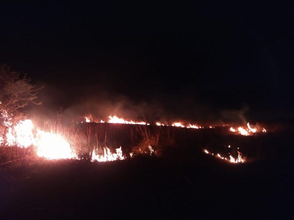 Se detectó un foco de incendio en Alta Gracia