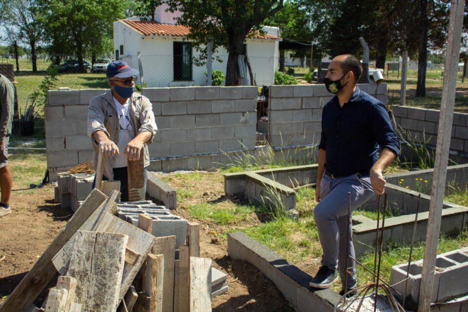 Avanza la obra del nuevo Centro de Jubilados en Anisacate