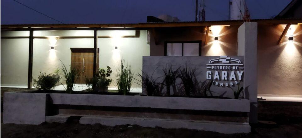 Potero de Garay reinauguró su sede comunal