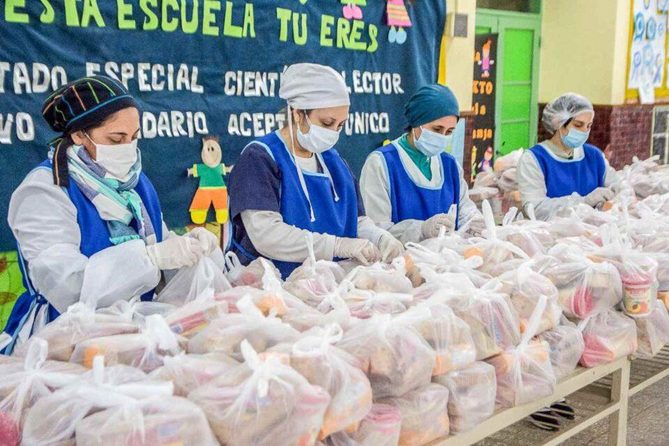 Programa Fortalecer: comenzó la entrega de complemento alimentario a niños escolarizados