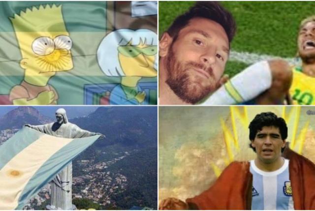 Explotó Twitter: los mejores memes de la victoria argentina ante Brasil