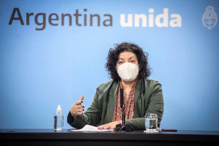 """Carla Vizzotti: """"Hoy llegaremos al 50% de vacunados en Argentina"""""""