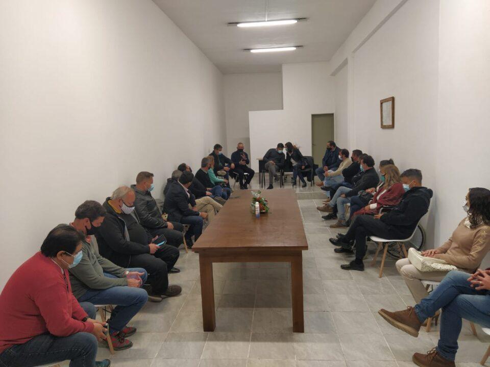 Se inauguró la sede de la Comunidad Regional Santa María