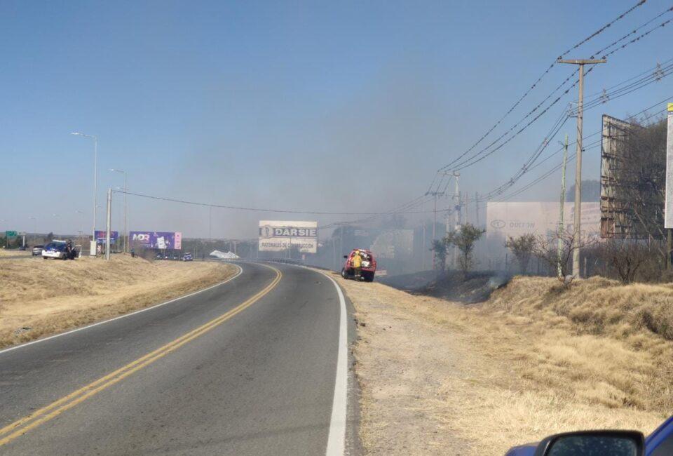 Continuan los incendios en Córdoba