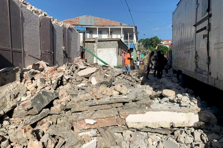 Un terremoto de magnitud 7.2 sacude Haití y deja al menos 29 muertos