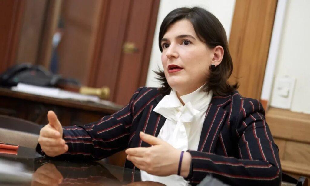 Titular de la Dirección Nacional Electoral (DINE), Diana Quiodo