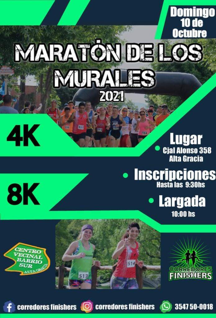 "Regresa la ""Maratón de los Murales"" a Alta Gracia"