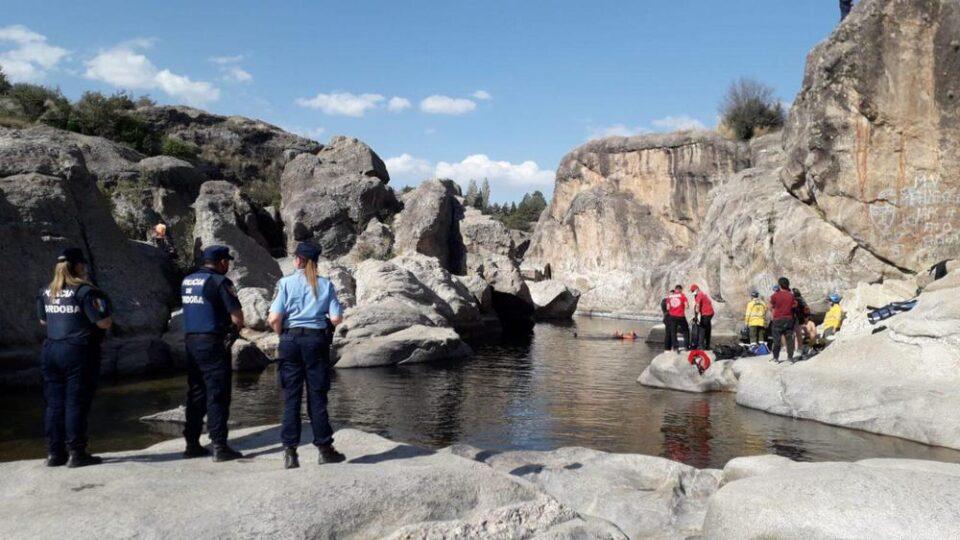 Un joven falleció ahogado en un balneario de Mina Clavero