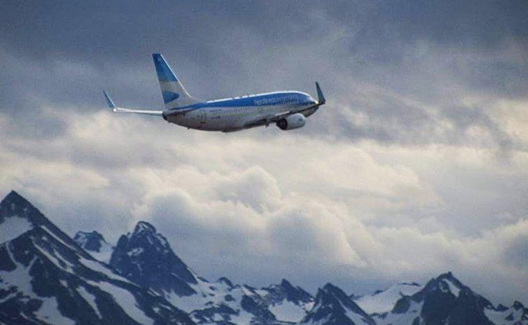 Aerolíneas reanudará la ruta directa entre Córdoba y Ushuaia