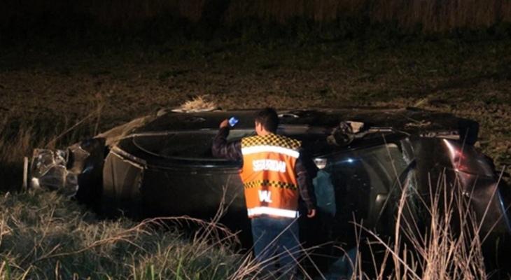 Una mujer murió en Córdoba tras dar varios tumbos en su auto