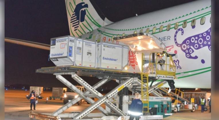 Más de 3 millones de vacunas de Astrazeneca arribaron al país